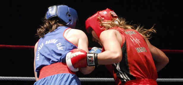 Comment s'appelle un match de boxe?