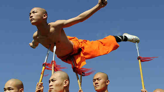 Où sont les moines Shaolin ?